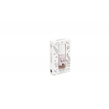 Vernis enfant - Polly - Rose transparent pailletté