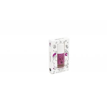 Vernis enfant - Sheepy - Framboise transparent pailletté