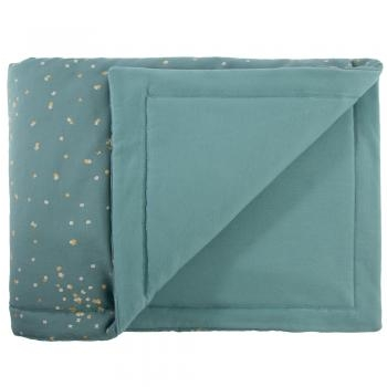 COUVERTURE LAPONIA 100X140 CONFETTI MAGIC GREEN