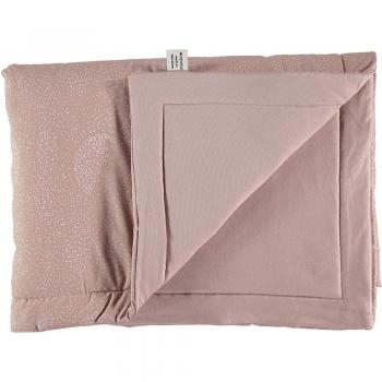 COUVERTURE LAPONIA 100X140 BUBBLE MISTY PINK