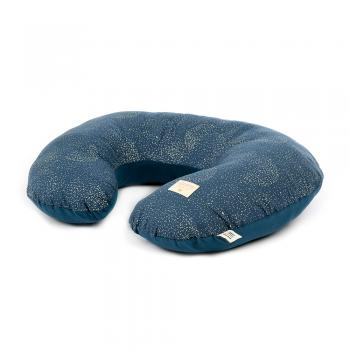 COUSSIN D'ALLAITEMENT BUBBLE NIGHT BLUE