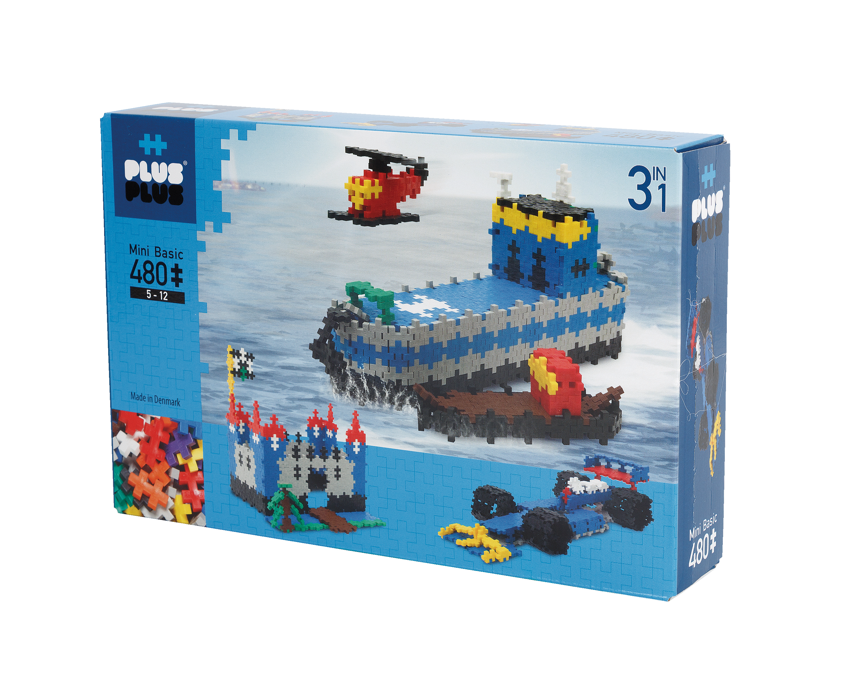 BOX MINI BASIC 3EN1 - 480 PIECES
