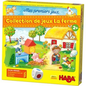 COLLECTION DE JEUX - LA FERME