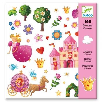 160 STICKERS - PRINCESSE MARGUERITE