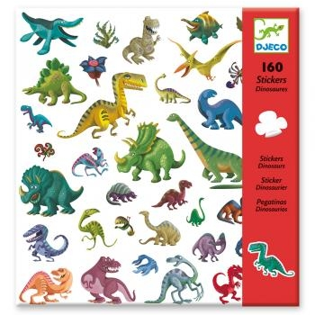 160 STICKERS - DINOSAURES